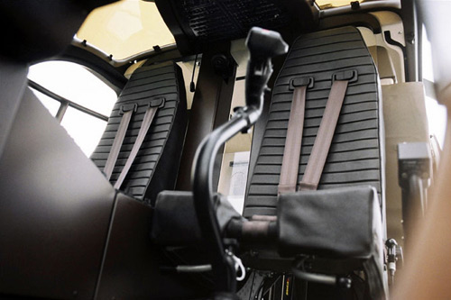 The Hermès Eurocopter: Cockpit