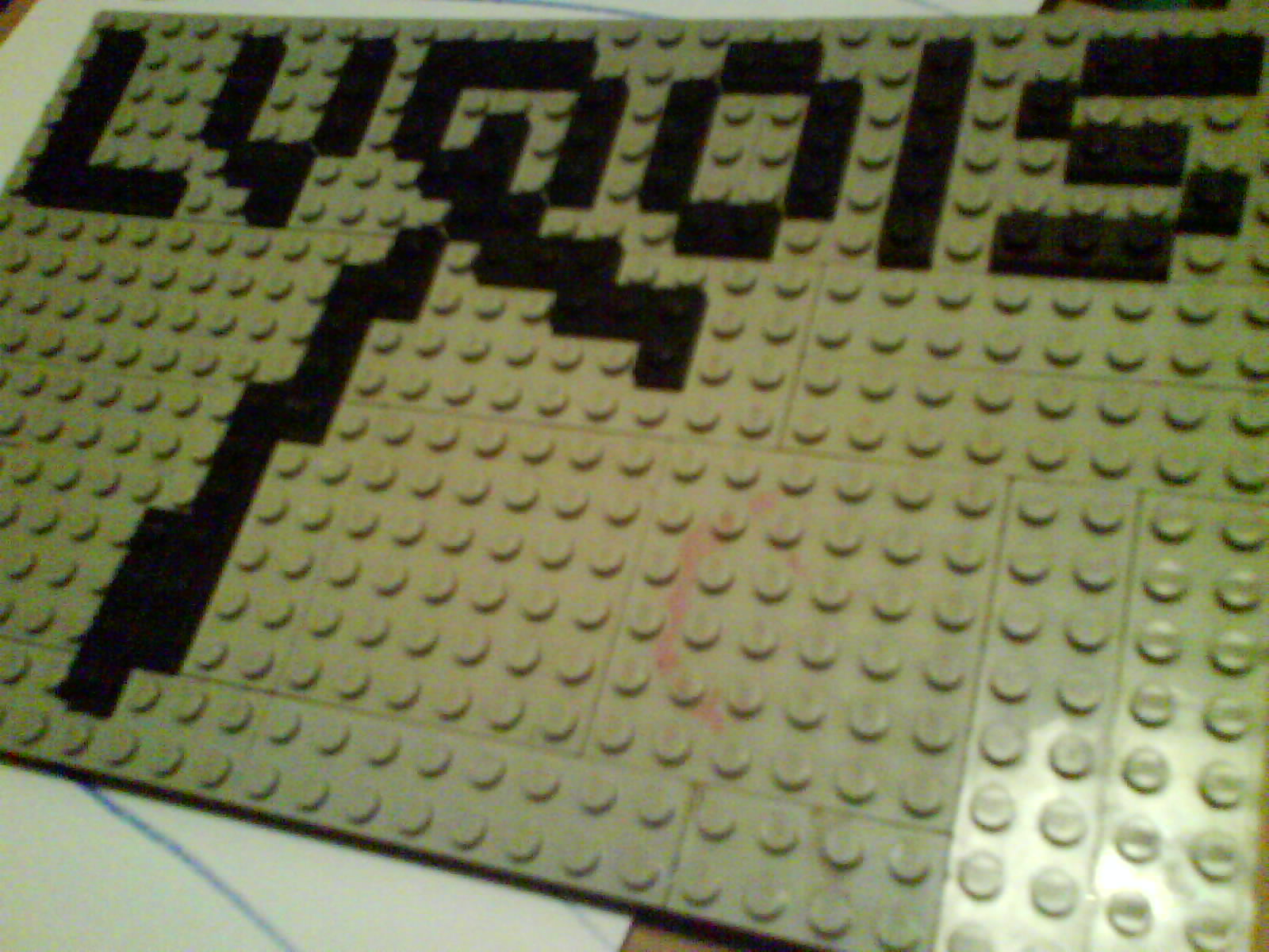 The Lyrois Dancer's Logo in LEGO