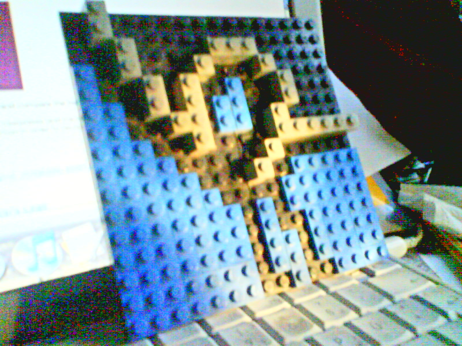 The Lyrois Favicon in Lego