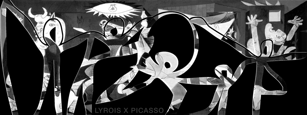 Mashup: Lyrois X Picasso's Guernica